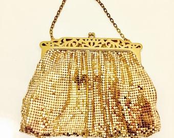 Vintage Whiting & Davis Mesh Evening Bag.