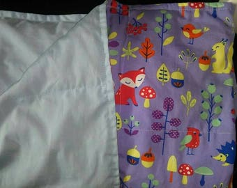 Custom weighted blanket, Childs small