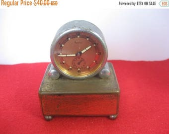 ON SALE Renova Swiss Made  clock/music box Sold for parts or repair. AS-Is
