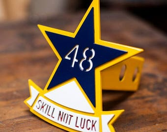48th Assault Trailer Hitch Cover