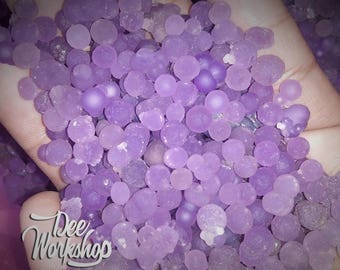 Botryoidal Grape Agate Seeds - Wholesale Purple Calcedony- 100 % Natural - Manakarra Super - Seeds030716