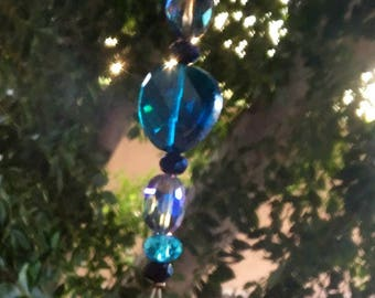 Blue amethyst dream suncatcher