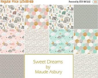ON SALE SWEET Dreams by Maude Asbury for Blend Fabrics - Complete  Fat Quarter Bundle - 10 Prints