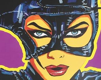 MICHELLE PFEIFFER Catwoman art print