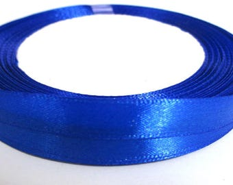 23 m 10mm reel color Royal blue satin ribbon
