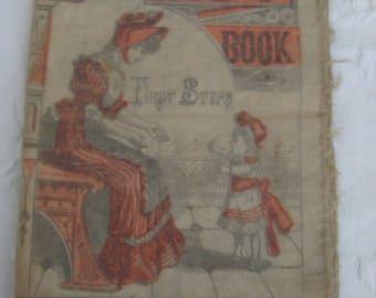 Antique LINEN A B C BOOK mid 1800's