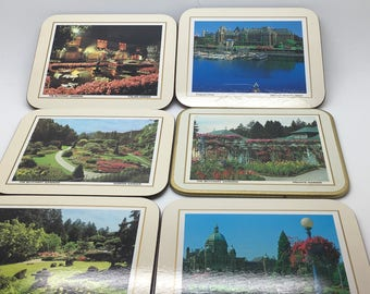 Vintage Victoria Vancouver Island BC Canada Empress Hotel Legislative Buildings Harbour  Butchart Garden   6 Made in New Zea