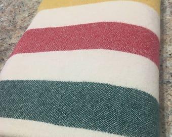 Vintage L L Bean Camp Blanket