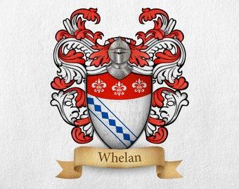 Whelan Family Crest - Print