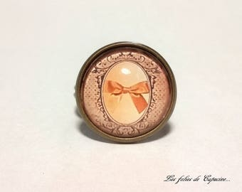 Ring Cabochon •ANNEE FOLLE•