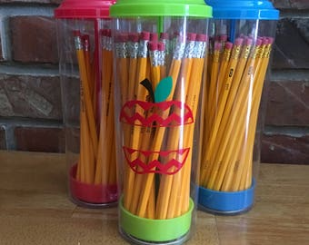 Personalized Pencil Holder, Back-to-School Gifts, Personalized Teacher Gifts