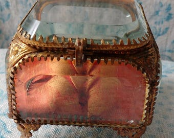 Antique French Trinket Pot