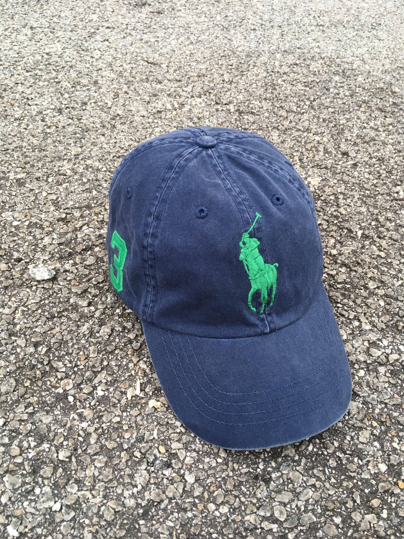 ffceea8b1fd Polo RALPH LAUREN Cap Trucker Vintage 90 s Polo Sport Cap Snapback Polo  Pony Big Logo Cap