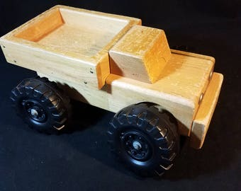 """Wooden Toy Truck 15"""" Childcraft Education Corp"""