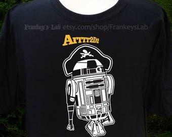 Arrr2-D2 T-shirt, Star Wars, Pirate