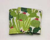 Cactus Coffee Cup Cozy, Coffee Cup Sleeve, Cup Cozy, Cup Sleeve, Reusable Coffee Sleeve