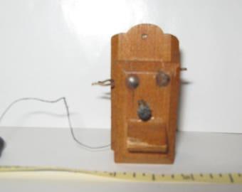 Miniature antique phone