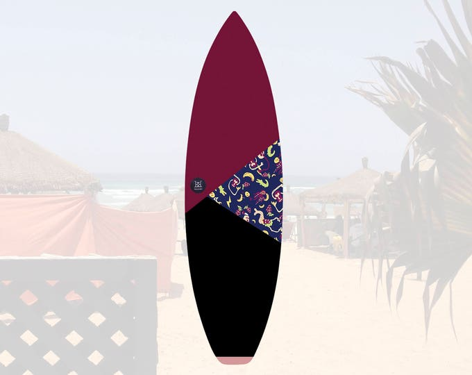 NEW IN   Oh Mangod   Surfboard Sock   Triangle Sunset