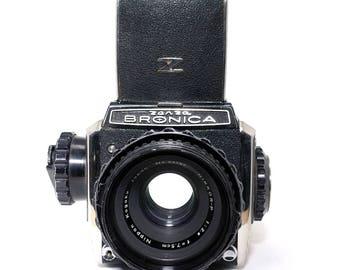 Bronica S2 6x6 - Medium Format - Film Camera - Vintage