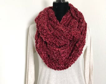Infinity Scarf. Crochet Scarf. Scarves. Scarves for Women. Gifts for Her. Gifts for Him.