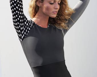 Surf rash-guard / one piece swimsuit