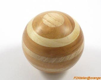 Custom wood gear shift knob type Porsche