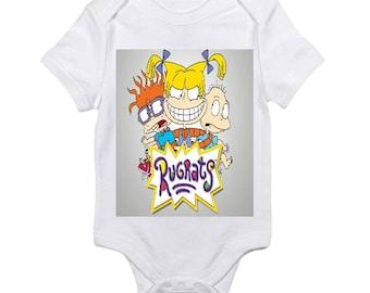 Custom Rugrats baby onesie