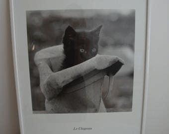 Le Chapeau by Jean-Louis Benamou Black and White Picture