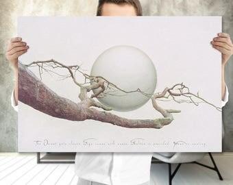 Boho Art Printable - Abstract Tree - Extra Large Wall Art - Printable Art - Modern Minimalist Tree Wall Art - Meditation Art - Spiritual Art