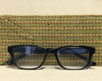 Welsh tweed glasses/spectacles case in lime green & multi coloured weave