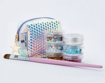 Ultimate Holographic Glitter Collection - Face & Body Festival Glitter
