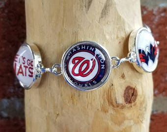Six image Washington Nationals bracelet