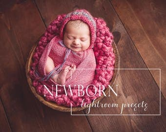 60 Newborn Lightroom presets