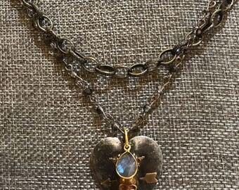 Bohemian Double necklace