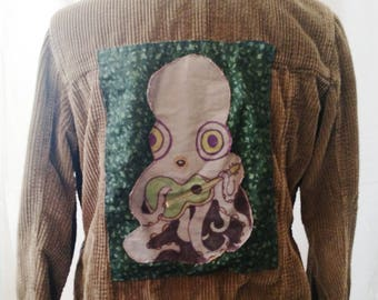 Hand-sewn Beatnik Cord Jacket (M)