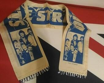 Dire Straits, vintage concert scarf 80