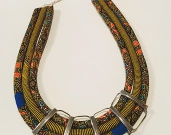 egyptian feature necklace