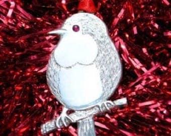 Robin Christmas Tree Decoration