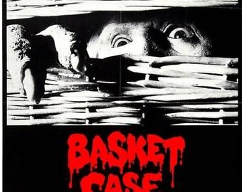 Summer Sale BASKET CASE Movie Poster Horror Gore RARE