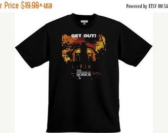ON SALE NOW: The Amityvile Horror 'Get Out' Shirt 1970s Horrror
