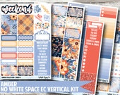Amber Planner Stickers - No White Space Kit