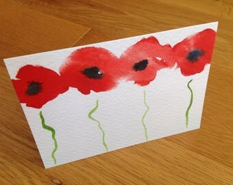 Poppies : Greeting Card