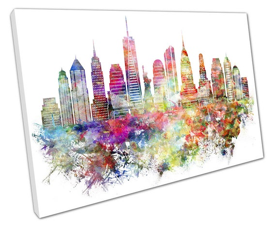 Canvas wall art picture of the New York City skyline
