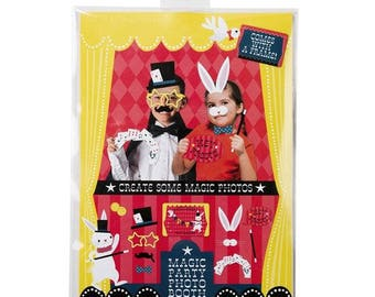 Magic Party Photo Booth -  photo booth Pack party games - props