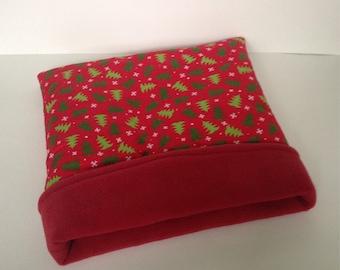 Sale- Holiday guinea pig snuggle sack/ cuddle sack