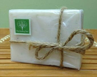 Nourishing Handmade Soap infused with Coconut, Shea Butter, Jojoba Oil, Honey, & Aloe Vera | Made in Thailand