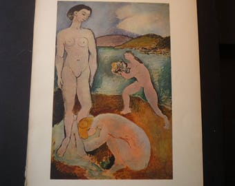 """Henri Matisse  """"Luxury, Peace and Pleasure""""  from 1906 - Beautiful art print - gift for artists - art lovers philosophers great gift"""