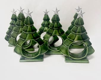 Christmas tree ring | Etsy
