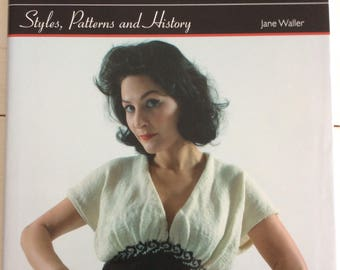 Knitting Book - Knitting Fashions of the 1940s Styles, Patterns & History by Jane Waller - Knitting Patterns Hardcover Book
