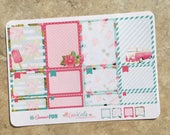 Summer Fun Box Set Planner Stickers for use with inkWELL Press Planners   Vertical & Horizontal   LucKaty